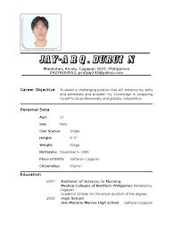 Resume Tagalog Pdf Therpgmovie