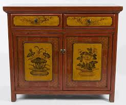 oriental furniture perth. antique asian furniture painted buffet cabinets from qinghai province china oriental perth d