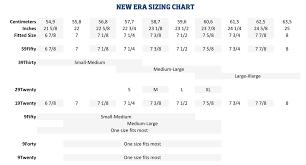 New Era Size Chart Us New Era Nfl Jersey Prime American Football Equipment