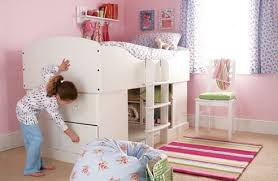 simple kids bedroom ideas. The Bedroom Is Suitable For Space With A Size That Not Too Large. Bedrooms Are Designed Kids Bunk Beds One Child. Like This, Simple Ideas