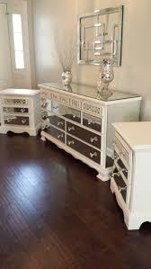 Mirrored Bedroom Dressers Mirror Dresser Set