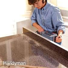 post formed plastic laminate countertops how to install a the family handyman in laminate s yourself