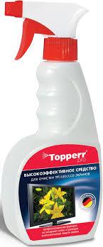 """<b>Спрей</b> """"Topperr"""" для ухода за экранами ЖК, <b>LCD</b> и плазмы, 500 мл"""