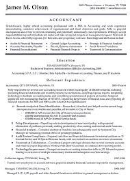 Resume Examples For Accounting Professionals Best Of Writing Accountant Resume Sample Is Not That Complicated As How The