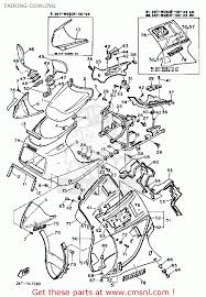 1987 fz700 part out yamaha fz750 owners club proboards forum the triangular fairing between the long fairing sides is part 70 in the diagram 2 i thought there was a separate metal brace like the upper fairing uses