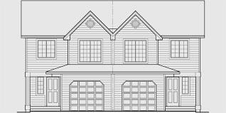 d 576 mirrored duplex house plans 2 story duplex house plans 3 bedroom