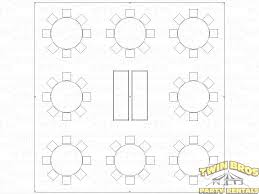 Round Table Seating Capacity 30x30 Pole Tent Layouts Pictures Diagrams Rentals