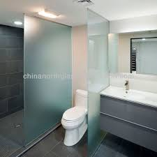 Bathroom Partition Glass Model