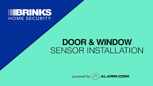 How to Install Brinks Home <b>Wireless Door</b>/<b>Window</b> Sensors - YouTube
