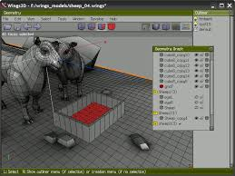 Image of Best Free CAD Software (Free CAD Programs): Wings 3D