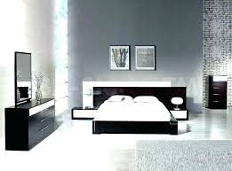 Contemporary black bedroom furniture Cheap Modern Black Bedroom Set Modern Black And White Bedroom Black Accent Wall And Striped Rug Modern Betabunkerco Modern Black Bedroom Set Betabunkerco
