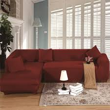 sectional sofa covers. Sectional Couch Covers L-shaped Sofa Cover Elastic Universal Wrap Entire Slipcover Coffee Color V