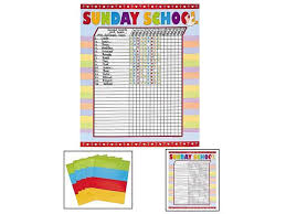 Sunday School Sticker Charts