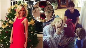 La Navidad a cara lavada de Carla Peterson junto a Martín Lousteau y su hijo  Gaspar: