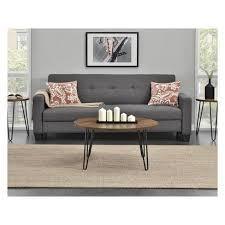 heywood retro round coffee table room