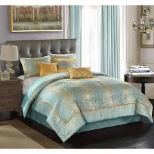 better homes garden duo metallic 7 piece bedding comforter set com
