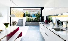 Things You Can Do Without Planning Permission   Homebuilding    a kitchen diner basement created  out planning permission in a London home