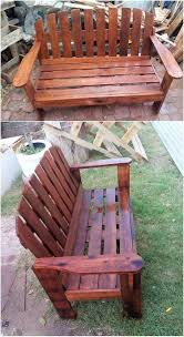 garden pallet furniture. This Image Will Make You Show Out With The Brilliant Creation Of Wood Pallet Garden Bench Modish Designing Inside It. Hence Whole Furniture A