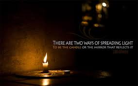 May The Light Of This Candle In The Same Way Let Your Light Shine Before Others So That