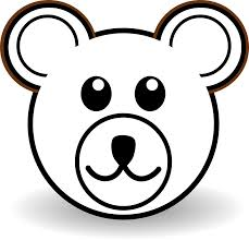 Bear Face Coloring Page Best Drawing Teddy Pages Draw A Easy Of 0