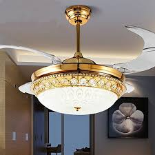 retractable lighting fixtures. Jubilant Lifestyle Modern Crystal Remote Control Transparent Acrylic 4 Blade Retractable Ceiling Fan With Chandelier Lamp Lighting Led Lights Fixture Fixtures D