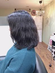 ミディアムスタイルの美髪 パーマとダメージレスな白髪染めリタッチ 大阪