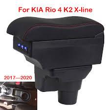 Для KIA Rio 4 <b>подлокотник</b> коробка для KIA <b>K2</b> Rio4 X line 2017 ...