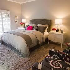 bedrooms colors design.  Design Gray Headboard With Nailhead Trim With Bedrooms Colors Design E