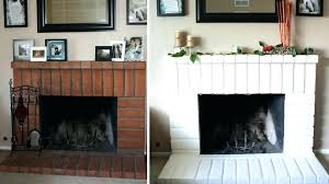 inside fireplace paint should i paint my brick fireplace painted brick fireplace ideas what color should inside fireplace paint