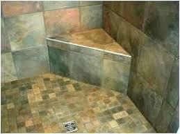 corner shower chair small stool
