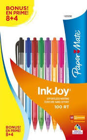 Flip Chart Paper Walmart Canada Papermate Paper Mate 1 0 Mm Inkjoy Pens In 2019 Products