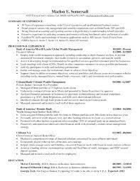 Financial Analyst Job Description Resume