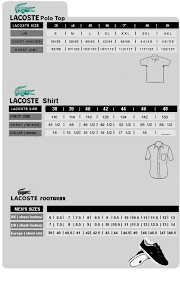 Lacoste Polo Womens Size Chart Lacoste Shorts Size Guide Mens Shorts Womens Shorts