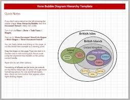 Venn Diagram Visio 2013 Venn Bubble Diagram Hierarchy Thingamajig Template Visio Guy