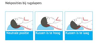 hoe slapen met nekpijn
