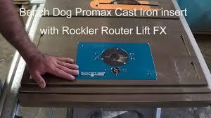bench dog router table. bench dog router table