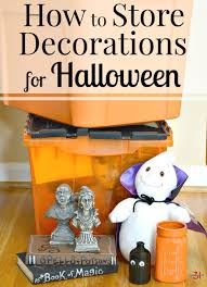 How to store your decorations for Halloween - Simple tips to protect your  precious decorations and