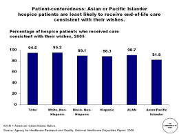 Patient Centeredness Asian Or Pacific Islander Hospice