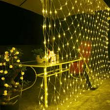 Fishing String Lights 1 5 1 5m Led String Lights 96 Led Fishing Net Lights Outdoor Waterproof And Decorative Led Wedding Ceremony String Lights