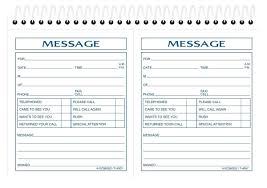 Printable Telephone Message Template Free Phone 10 4gwifi