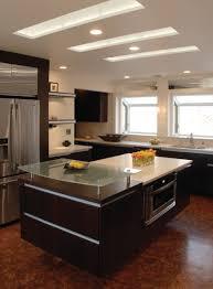 Modern Spotlights For Kitchens Kitchen Modern Kitchen Ceiling Lights Close To Ceiling Light