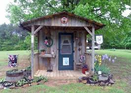 20 garden shed decorating ideas for the