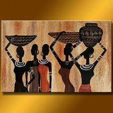 2018 high grade handicraft african wall art lady women oil hotel office decoration modern paintings posters canvas 10086 from xmshenyx
