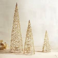 Cone Shaped Christmas Tree Lights Weve Given Holiday Decor A Modern Twist With Our Cone