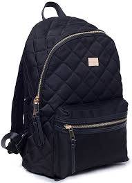 Backpack Women Backpack Black Quilted Rucksack School Backpacks ... & Backpack Women Backpack Black Quilted Rucksack School Backpacks Casual  Daypack Bookbag for Girls Woman Adamdwight.com
