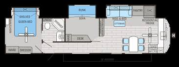 bunkhouse rv floor plans lovely 51 elegant stock jayco fifth wheel floorplans of bunkhouse rv floor