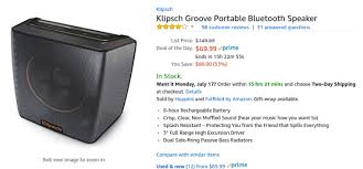 klipsch bluetooth speakers. bluetooth speakers are pretty awesome, but the more premium models can cost quite a bit. if you\u0027ve been looking for good wireless speaker, klipsch