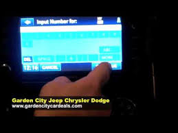 garden city jeep. Using Your GPS Navigation System. Garden City Jeep