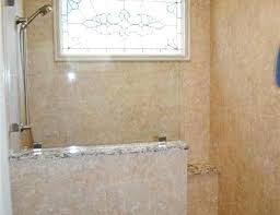 half wall shower glass elegant showers with walls the above picture shows a pertaining to panels shower glass panel half wall