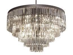 j chandeliers retro odeon crystal glass fringe tier